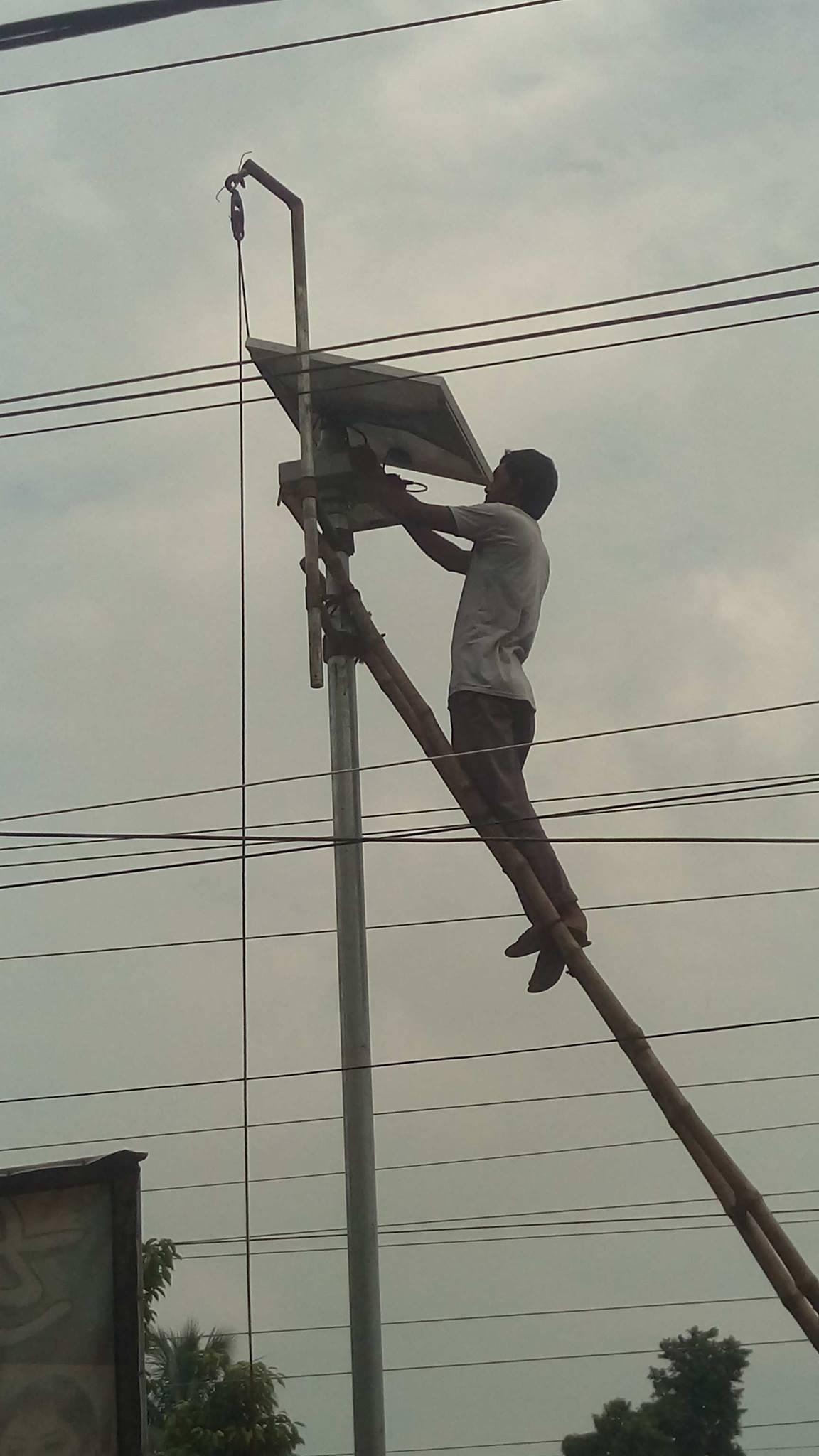 Solar Street Light Maintainance