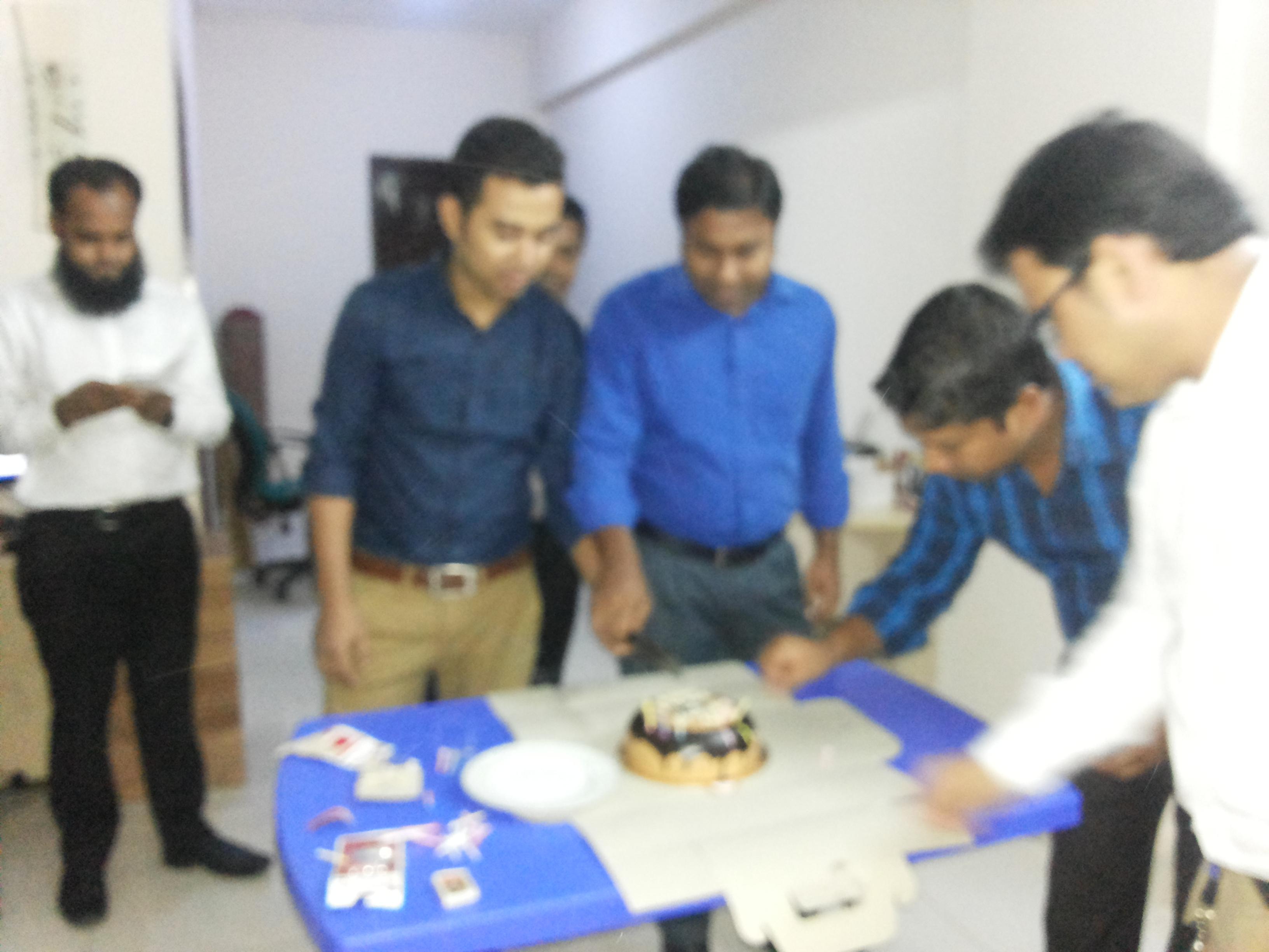 Staff birth day celebration @ Head office