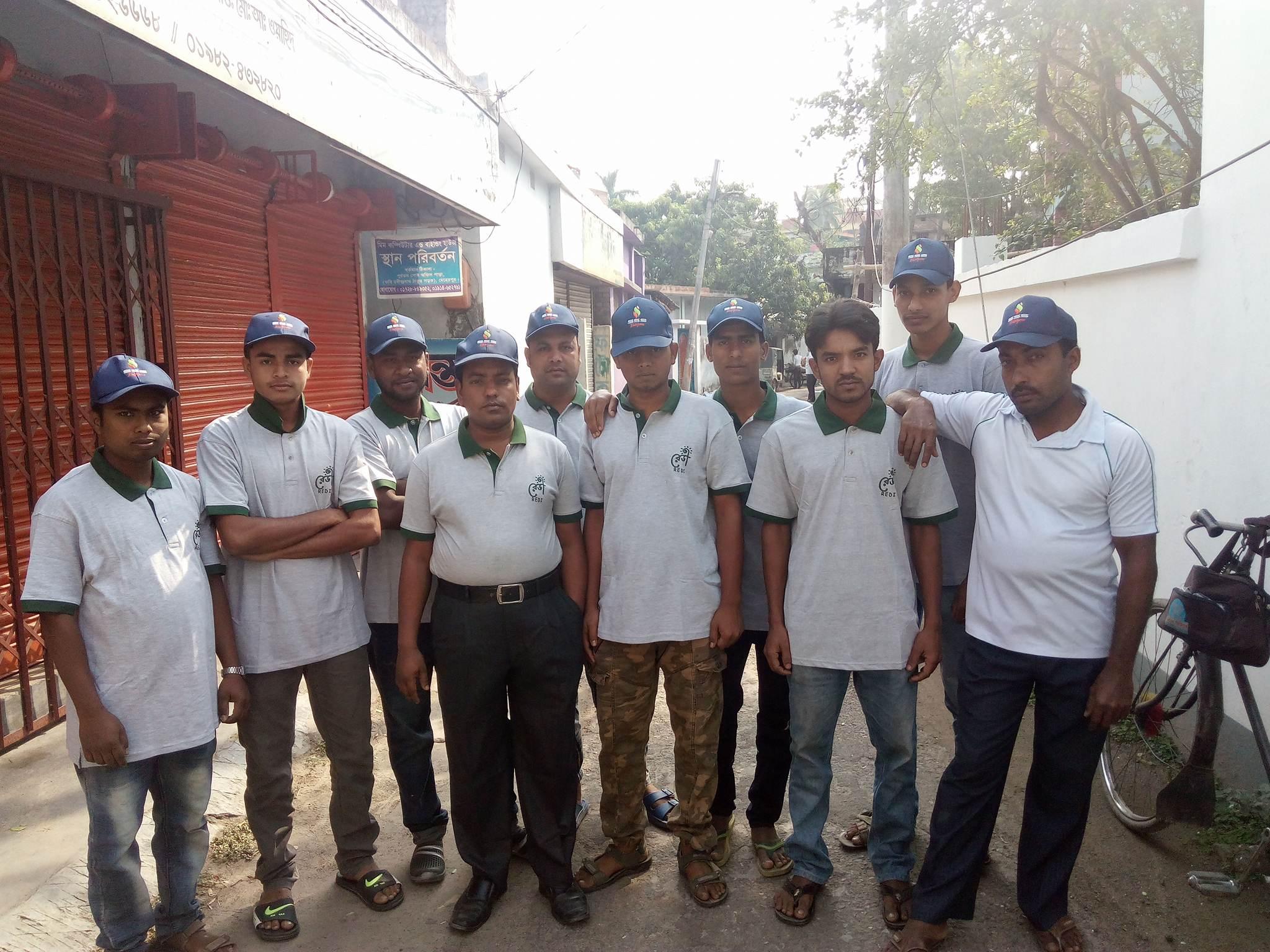 redi installation team Meherpur